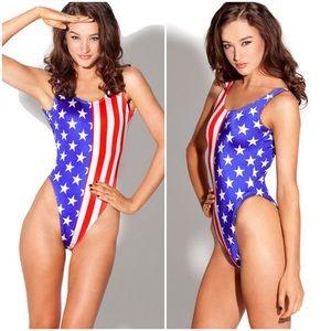76ff116ab13e Women American Flag One Piece on Poshmark